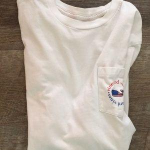 Boys American Whale Pocket T-Shirt